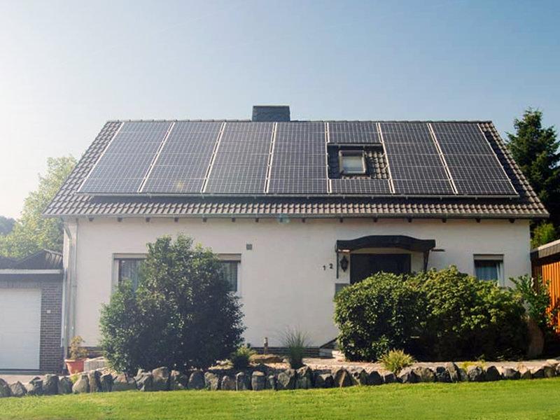 photovoltaik schauenburg einfamilienhaus